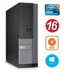 Dell 3020 SFF i3-4130 16GB 250GB DVDRW WIN10Pro cena un informācija | Dell 3020 SFF i3-4130 16GB 250GB DVDRW WIN10Pro | 220.lv