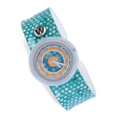 Pulkstenis bērniem Watchitude Slap Watch, 473 Emeralds