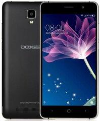 DOOGEE X10s, 1/8GB Dual Sim, Melns