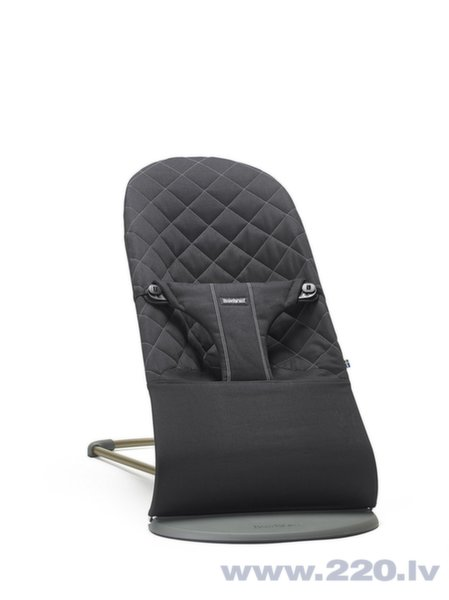 Babybjörn šūpuļkrēsls Bliss Black cotton, 006016