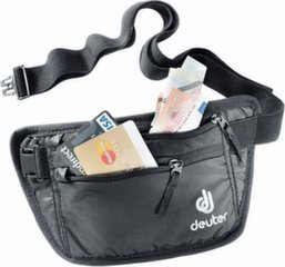 Jostas soma Deuter Security Money Belt I, melna