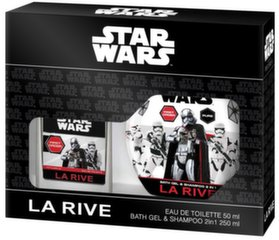 Komplekts La Rive Star Wars First Order: EDT zēniem 50 ml + dušas želeja-šampūns 250 ml