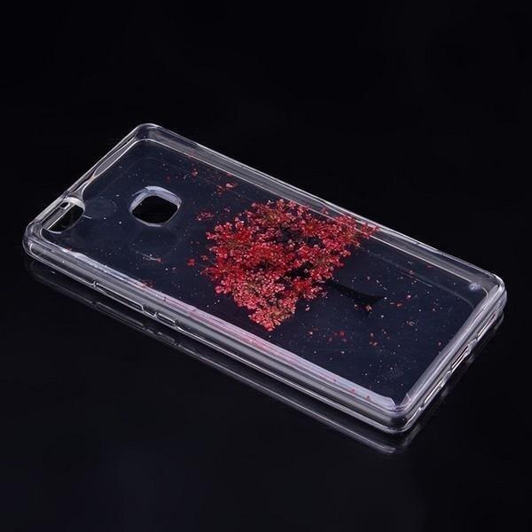 Etui Flower telefona maciņš Huawei P8 lite 2017 modelis 10 P9 lite 2017 cena