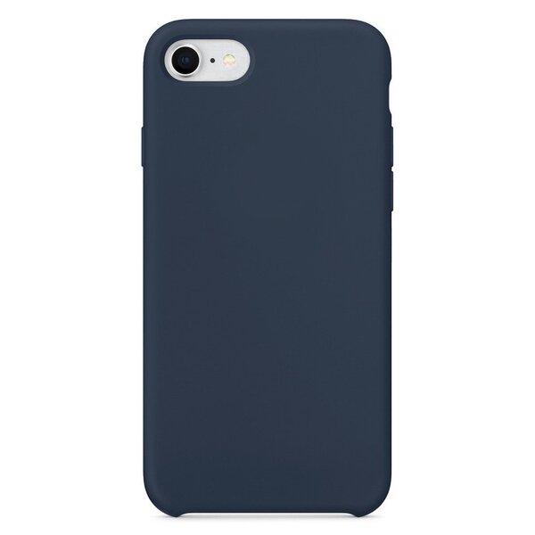 Silikona vāciņš telefonamiPhone 8 / 7 tumši zils