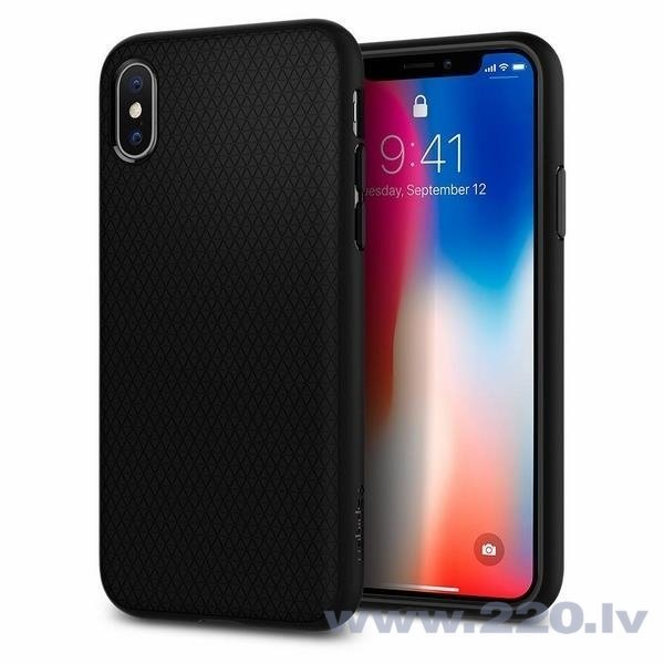 Spigen для Apple, iPhone X, Черный