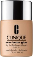 Grima pamats Clinique Even Better Glow Light Reflecting Makeup SPF15 30 ml, CN 70 Vanilla