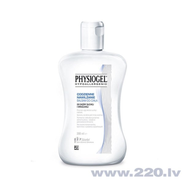 Mitrinošs ķermeņa balzams Physiogel Hypoallergenic Daily Moisture Therapy Lotion 200 ml