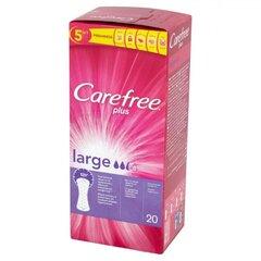 Higiēniskās paketes Carefree Large 20 gab.