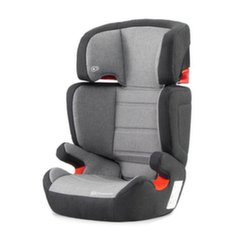 Autosēdeklis KinderKraft Junior Fix ISOFIX, 15-36 kg, black/grey