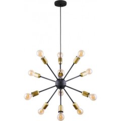 TK Lighting griestu lampa Estrella Black 12