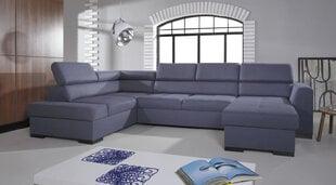 Mīksts stūra dīvāns Nest I, zils cena un informācija | Dīvāni un krēsli | 220.lv