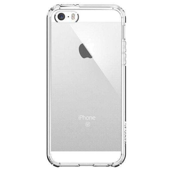Spigen, для Apple iPhone 5/5S/SE, прозрачный