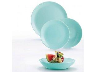 Luminarc Diwali Turquoise pusdienu trauku servīze, 18 gab cena un informācija | Trauki, šķīvji, pusdienu servīzes | 220.lv