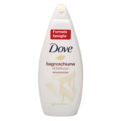 Dušas želeja Dove Silk Glow Caring Bath 700 ml