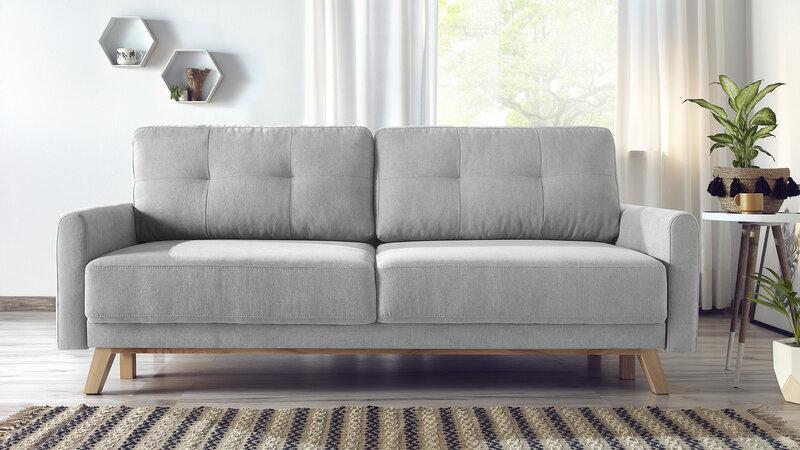 Dīvāns BoboChick Balio, pelēks