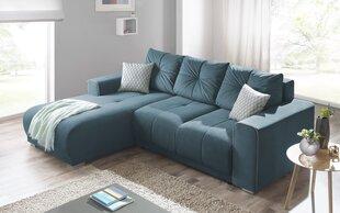 Mīksts stūra dīvāns BoboChick Lisbona, zils