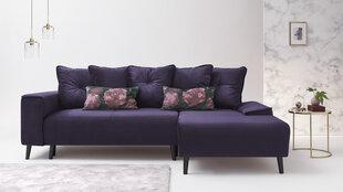 Mīksts stūra dīvāns BoboChic Hera III, violets cena un informācija | Stūra dīvāni | 220.lv