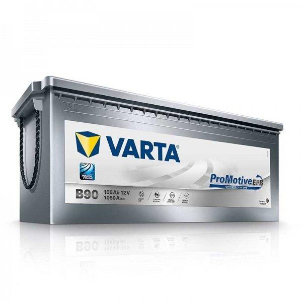 Akumulators Varta EFB B90 190 Ah 1050 A