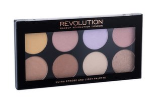 Sejas modelēšanas palete Makeup Revolution London Ultra Strobe and Light 11,5 g