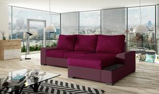 Stūra dīvāns Negro, rozā