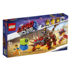 70827 LEGO® MOVIE Ultrakatija un kaujiniece Lūsija!