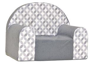 Krēsls Welox Maxx A46, pelēks/balts