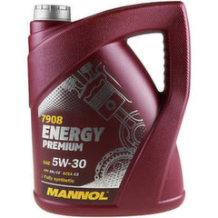 Mannol Energy Premium 5W-30 Fully Synthetic, 5L