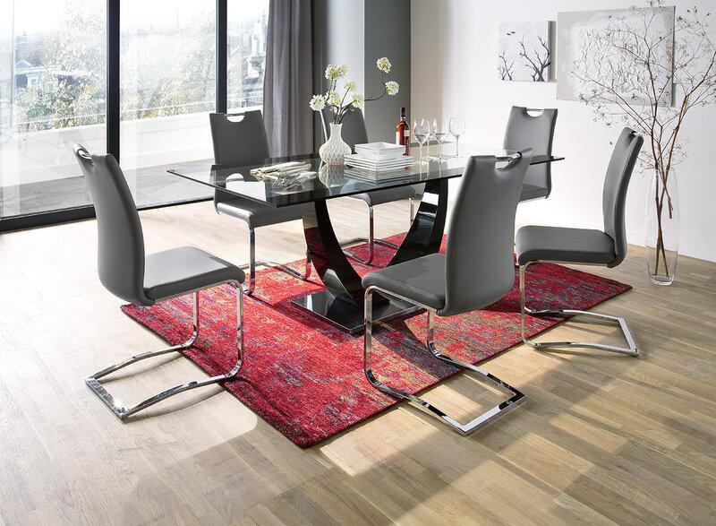 Комплект из 4 стульев Koeln, белый