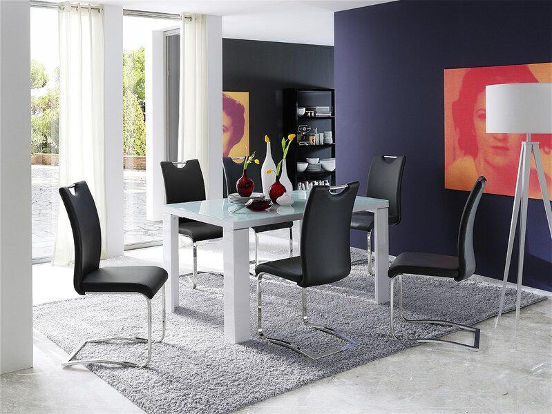 Комплект из 4 стульев Koeln, красный