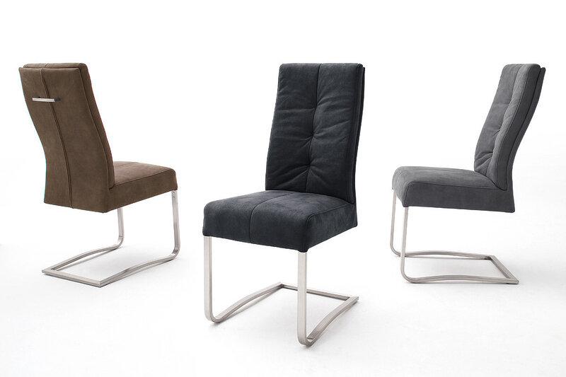 Комплект из 2 стульев Salva, серый