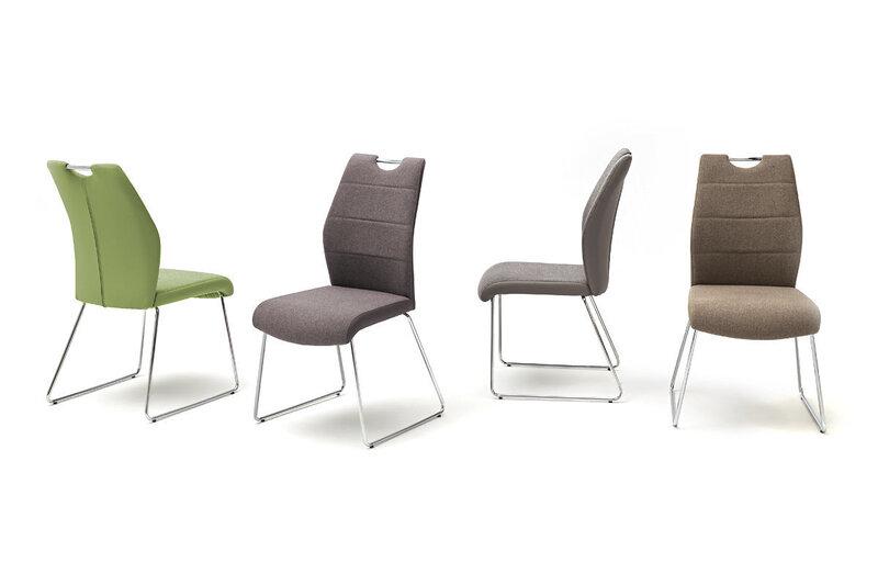 Комплект из 2 стульев, Silvica A-2, серый