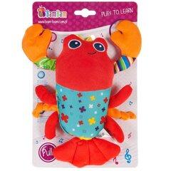 Muzikālā karināma rotaļlieta Krabis Bam Bam