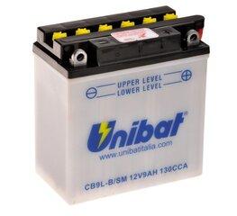 Akumulators Unibat 12V 9AH -+ 130A