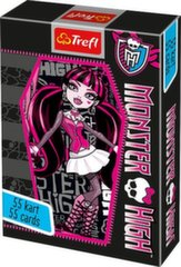 Kārtis Trefl Monster High, 55 gab.