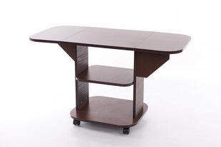 Saliekams kafijas galdiņš STZ 3, tumši brūns
