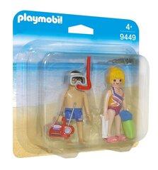 9449 PLAYMOBIL® Duo Pack, Pludmales apmeklētāji
