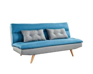 Dīvāns Tristan, zils/pelēks