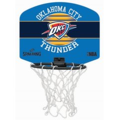 Mini basketbola grozs Spalding NBA Oklahoma City Thunder 77-659Z