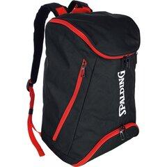 Mugursoma Spalding, 40 l, melna/sarkana cena un informācija | Sporta somas un mugursomas | 220.lv