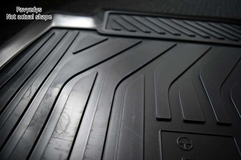 Gumijas paklāji 3D LEXUS LX450 2015->, 4 gab. /L41025 cena