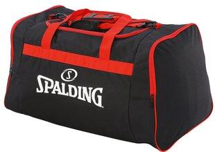 Sporta soma Spalding, M melna/sarkana