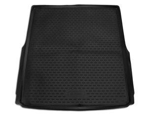 Bagāžnieka gumijas paklājs VOLKSWAGEN Passat B8 Variant 2014-> melns /N41033 cena un informācija | Bagāžnieka paklājiņi pēc auto modeļiem | 220.lv