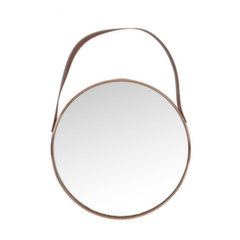 Spogulis Crystal, 43x43 cm, brūns
