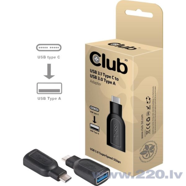 Club 3D USB 3.1 type C to USB 3.0 type A adapter