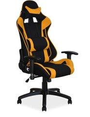 Biroja krēsls Viper, melns/oranžs