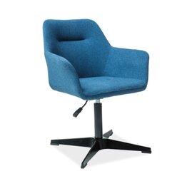 2 krēslu komplekts Kubo, melns/zils