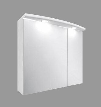 Sienas vannas istabas skapis Bruno, 70x62x24 cm, balts