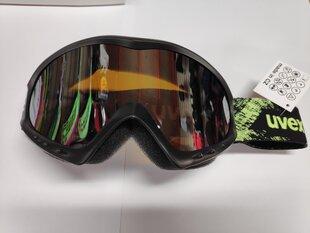 Очки лыжные UVEX Cevron LM, чёрный/зелёный