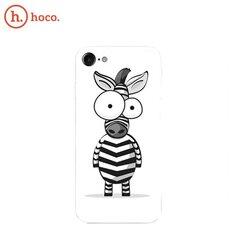 Hoco Cool Colored Zebra silikona aizmugurējais aizsargs, Apple iPhone 7 / 8
