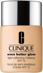 Grima bāze Clinique Even Better Glow Light Reflecting Makeup SPF15 30 ml cena un informācija | Grima bāzes, pūderi | 220.lv